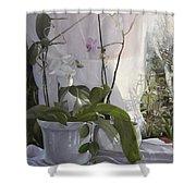 Le Orchidee Sfumate Shower Curtain