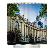 Le Petit Palais Shower Curtain