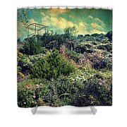 Le Printemps Shower Curtain by Taylan Apukovska