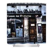 Le Taveau Des Oubliettes Paris France Shower Curtain