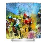 Le Tour De France 01 Shower Curtain