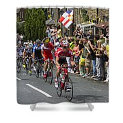 Le Tour De France 2014 - 9 Shower Curtain