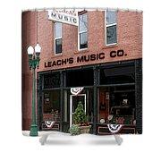 Leach's Music Shower Curtain