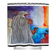 Lead By The Pillar Of Fire Shower Curtain
