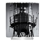 Lead Me Home Lightship. Shower Curtain