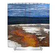 Lead The Way Shower Curtain