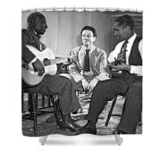 Leadbelly, Nicholas Ray, Josh White Shower Curtain