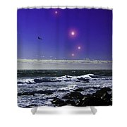 Leading Aries Shower Curtain