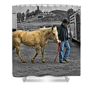 Leading Dixie Shower Curtain