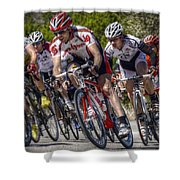 Leading The Race Shower Curtain