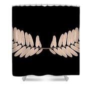 Leaf And Leaf Shower Curtain