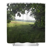 Leaf Cover Shower Curtain
