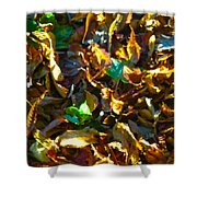 Leafy Image Shower Curtain