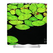 Leafy Swamp Shower Curtain
