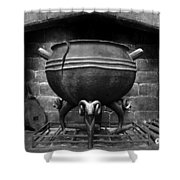 Leaky Cauldron Shower Curtain