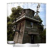 Leal Tank House Shower Curtain