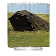 Lean To The Wind Shower Curtain