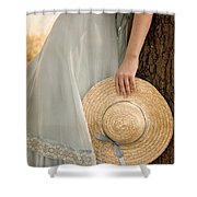 Leaning Beauty Shower Curtain