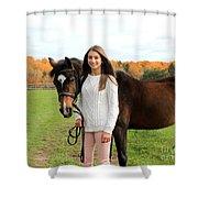Leanna Abbey 10 Shower Curtain