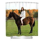 Leanna Abbey 17 Shower Curtain