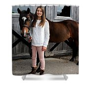 Leanna Abbey 7 Shower Curtain