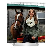 Leanna Gino 14 Shower Curtain