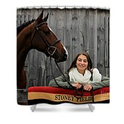 Leanna Gino 20 Shower Curtain