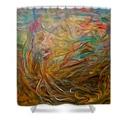 Leaping Aloud  Shower Curtain