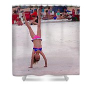 Leaping For Joy Shower Curtain