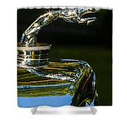 Leaping Hound Shower Curtain
