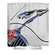 Leaping Jaguar Shower Curtain