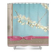 Learn Live And Hope Shower Curtain