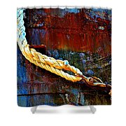 Learning The Ropes Shower Curtain
