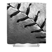 Leather Scars Shower Curtain