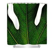 Leave Shower Curtain