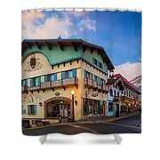 Leavenworth Alps Shower Curtain