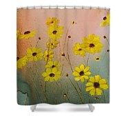 Leavenworth's Tickweed Shower Curtain