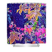 Leaves 1 Shower Curtain