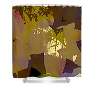 Leaves 9 Shower Curtain