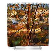 Leaves - Impressions Shower Curtain