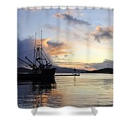 Leaving Safe Harbor Shower Curtain