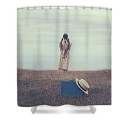 Leaving The Past Behind Me Shower Curtain