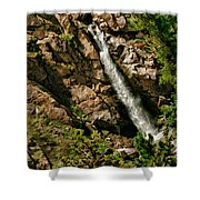Leavitt Falls  Shower Curtain