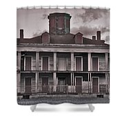 Louisiana Plantation House Shower Curtain