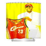 Lebron James Going Home Shower Curtain