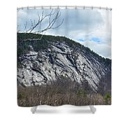 Ledge In New Hampshire Shower Curtain