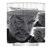 Lee Marvin Monte Walsh #1 Old Tucson Arizona 1969-2012   Shower Curtain