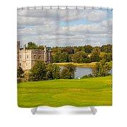 Leeds Castle Golf 2 Shower Curtain