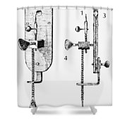 Leeuwenhoek: Microscope Shower Curtain