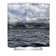 Leeward Coast-oahu Hawaii  Shower Curtain